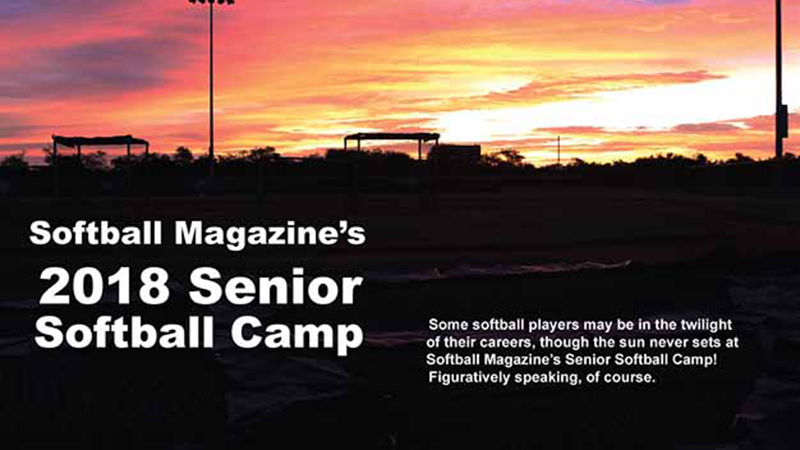 Softball Magazine's Senior Softball Camp